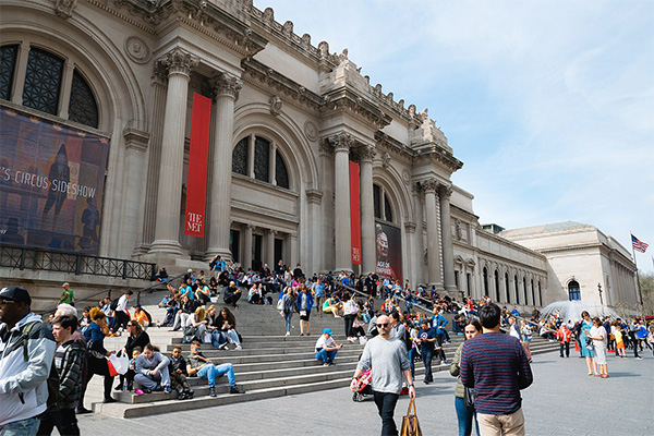 แวะชมศิลปะที่ Metropolitan Museum of Art พิพิธภัณฑ์ศิลปะ เมโทรโพลิทัน